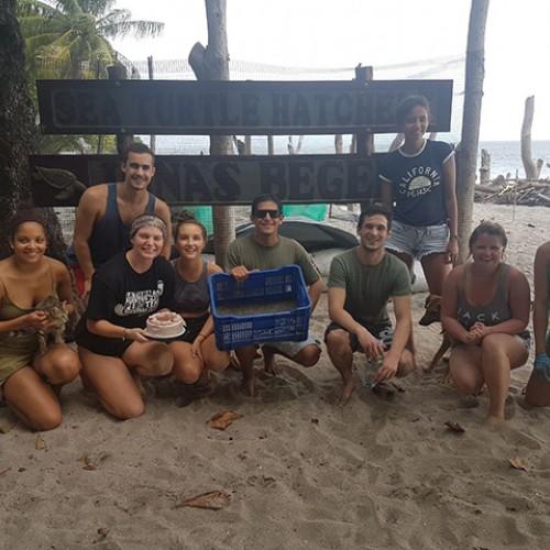 Estación de Conservación e Investigación de Tortugas Marinas y Ecosistemas, Playa Montezuma